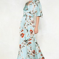 Queen of Peace Floral Dress