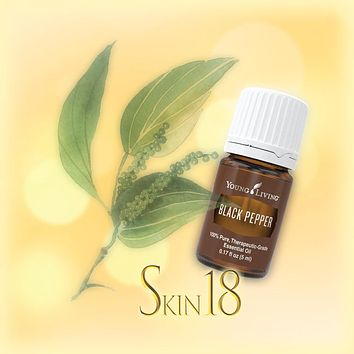 Black Pepper Essential oil Single