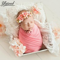 50*150cm Extra Soft Stretch born Photography Wrap for Photo Shooting Baby Photo Props born Swaddle Photography Accessories