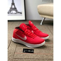 Nike Kobe Fly Line Popular Men Leisure Low Top Sport Basketball Shoe Sneakers Red(Whiet Hook) I-CSXY