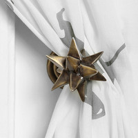 Geo Sculpted Curtain Tie-Back - Urban Outfitters
