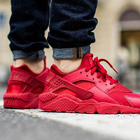 Nike Air Huarache Sneakers Women Men Casual Running Sport Shoes
