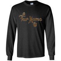 Fur Mama Shirt, Dog Cat Lover Mom Mommy Babies Gift