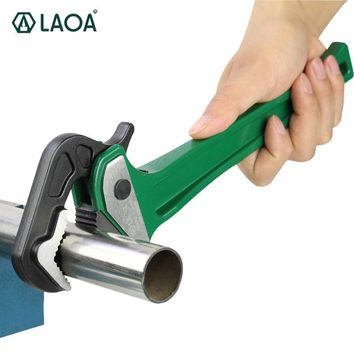 Rapid Pipe Pliers Aluminum CR-V Wrench