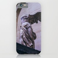 Winged Victory Of Samothrace iPhone & iPod Case by Pati Designs