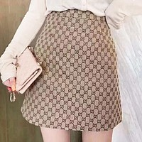 GUCCI New fashion more letter print shorts skirt women