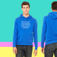 Funny quote about forgiveness sweatshirt hoodie