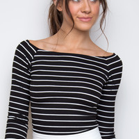 Lindy Stripe Top
