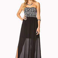 Out West Combo Maxi Dress