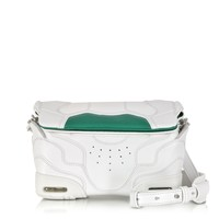 Alexander Wang Optic White and Astrturf Small Sneaker Sling