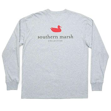Long Sleeve Authentic Tee by Southern Marsh