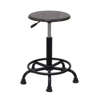 Studio Designs Retro Stool - Rustic Oak and Gunnison Gray