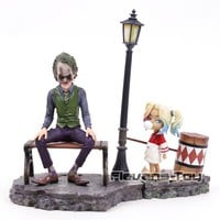 DC Suicide Squad Character Joker & Harley Quinn PVC Figure Model Toys for Collection