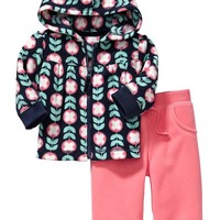 Micro Performance Fleece Hoodie & Pants Sets for Baby