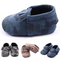 Little one shoes Soft Sole Leather Baby Infant Toddler Kids Boy Shoes