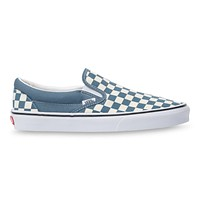 Vans Classic Slip On(Chekrbrd)Blue Mirage