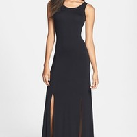 FELICITY & COCO Back Cutout Detail Jersey Maxi Dress (Nordstrom Exclusive)