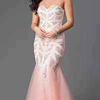 Mermaid Evening Gowns, Long Prom Dresses