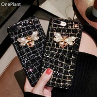 Glittery Bumble Bee Bling Phone Case for iPhone And Samsung