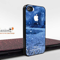 uniqe iphone  cases 4, iphone 4s case iphone 4 cove with  snow  printing ,the best iphone 4 case 342