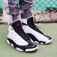 Wearwinds Air Jordan 13 AJ13 High Top Sneakers Basketball Shoes