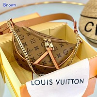 Louis Vuitton LV Popular Women Men Leather Tote Handbag Shoulder Bag Crossbody Satchel