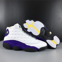 "Air Jordan 13 ""Lakers"" - Best Deal Online"
