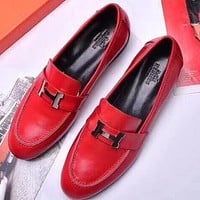 Hermès  Women Fashion Simple Casual Loafers  Shoes
