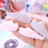 Fairy Kei Angel Wing Hair Clips Pick A Pair made to order