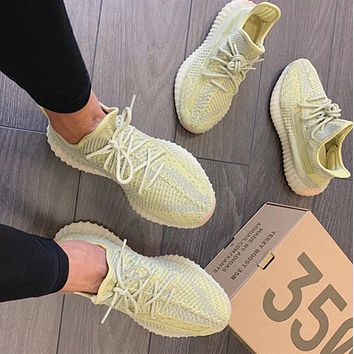 Adidas Yeezy Boost 350 V2  coconut lovers Black Angel Sports shoes