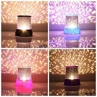 Colorful Twilight Romantic Sky Star Master Projector Lamp Starry LED Nig...