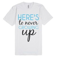 Young Forever-Unisex White T-Shirt