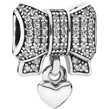 Authentic Pandora Jewelry - Heart & Bow
