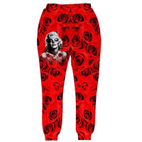 Marilyn Monrose Tattoos Joggers