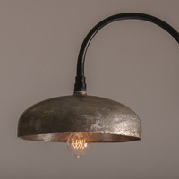 Upcycled industrial lighting