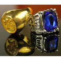 Golden and Blue Black Butler Couple Rings CP153506