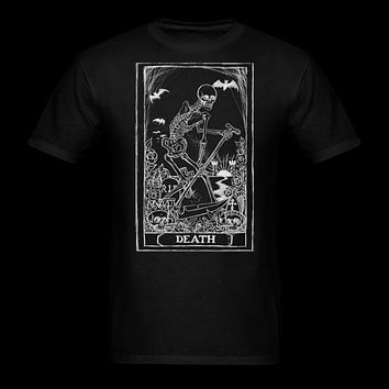 Death card Tarot Men's T-Shirt