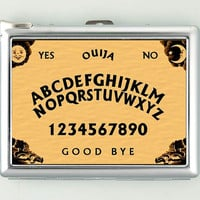 Ouija Board Cigarette Case with Lighter Wallet Business Card Holder CGC0830