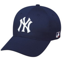 MLB YOUTH New York YANKEES Home Navy Hat Cap Adjustable Velcro TWILL