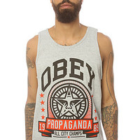Obey The Extra Innings Tank in Heather Grey : Karmaloop.com - Global Concrete Culture