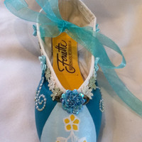 Party Girl .... Decorated Pointe Shoe