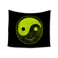 "Frederic Levy-Hadida ""Bad Ass Ying Yang"" Wall Tapestry"