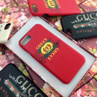Gucci 2017 Hot ! iPhone 7 iPhone 7 plus - Stylish Cute On Sale Hot Deal Matte Couple Phone Case For iphone 6 6s 6plus 6s plus