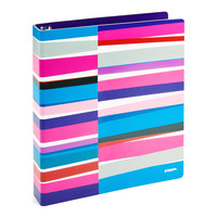 "1"" Purple Streamer Binder"