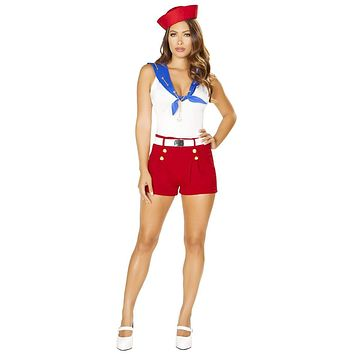 Sexy Searchers Ahoy There Sailor Costume with Accessories