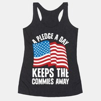 A Pledge A Day Keeps The Commies Away