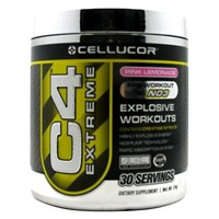 Cellucor C4 Pre Workout Supplement, Creatine Nitrate, Nitric Oxide, Beta Alanine & Energy, 30 Servings, Pink Lemonade,G3