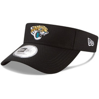 NFL Jacksonville Jaguars New Era Black 2017 Training Camp Official Visor