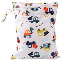 Watetproof Reusable Nappy Bags Baby Cloth Diaper Nappy Wet & Dry Bag