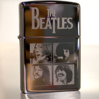 SALE Custom Beatles Let It Be Album Cover Zippo Lighter Chrome